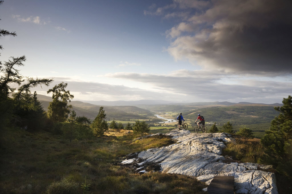 Mountain biking in Scotland