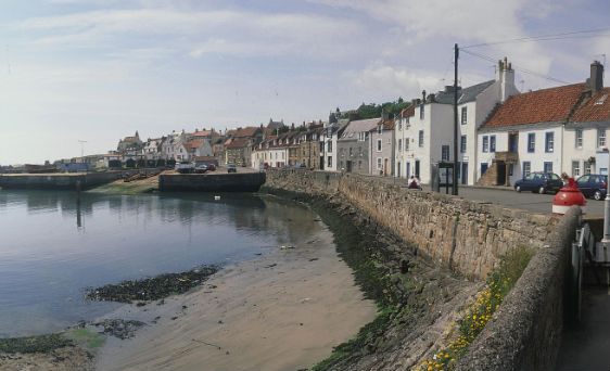 St Monans harbour, Fife