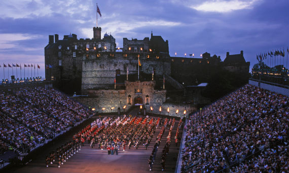 Performance at Edinburgh Castle