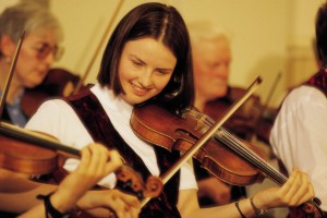 Shetland Fiddle Player