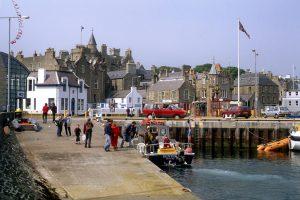 Harbour at Lerwick, Shetland