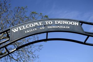 Sign of Dunoon