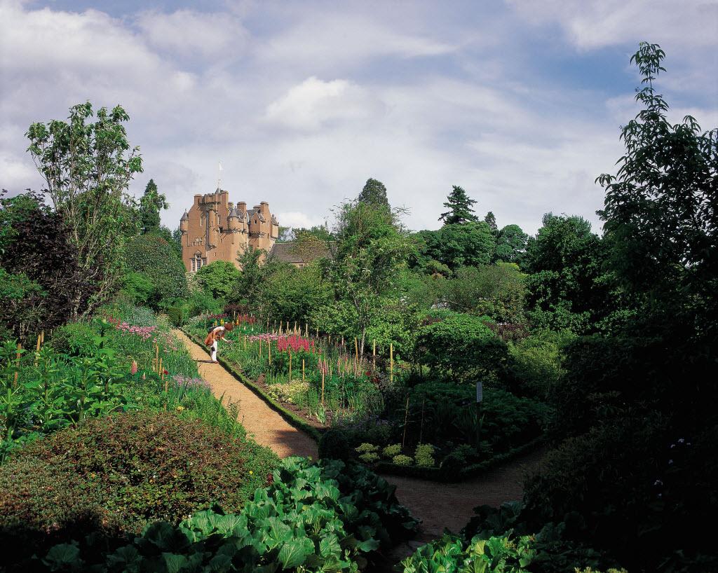 Crathes Castle Garden