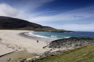 Tangasdale Beach, beside the Isle of Barra Hotel, Isle of Barra