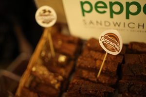 Peppers Sandwich Bar - Chocolate Brownies
