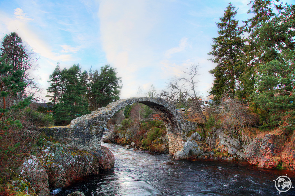 Old Packhorse Bridge, Carrbridge, Highlands