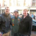 Meeting Craig Lowndes on Buchanan Street, Glasgow