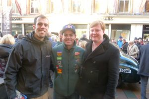 Meeting Craig Lowndes on Buchanan Street, Glasgow