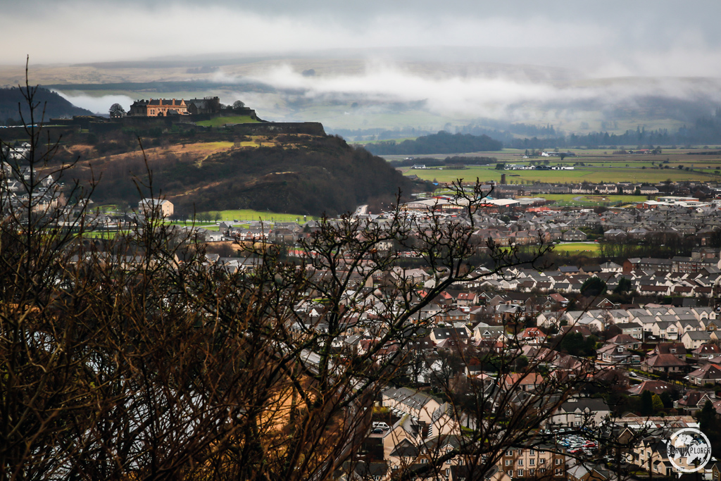 Stirling Castle and surroundings