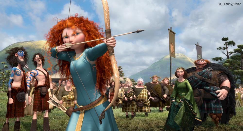 Brave - Merida aiming