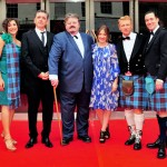 Cast of Brave at the European Premiere in Edinburgh.