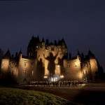 A performance of Macbeth at Glamis Castle, Angus