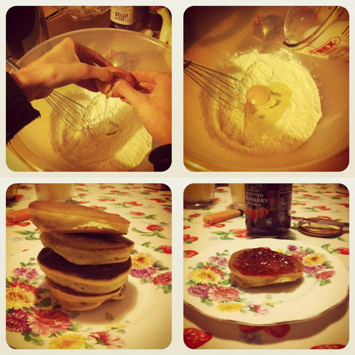 Make your own Scotch Pancakes!