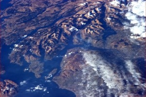 From Prestwick to Glasgow, past Loch Lomond to Inveraray - Chris Hadfield