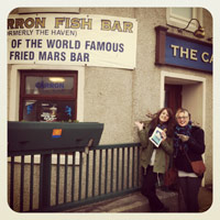 The Carron Fish Bar in Stonehaven