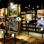 Exhibition at National Geographic Store, London