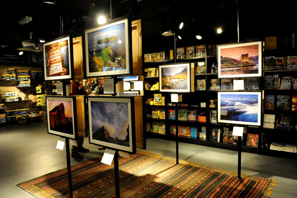 Photos of Scotland at National Geographic Store London ...