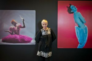 Annie Lennox, 2013, Scottish National Portrait Gallery. Copyright Chris Watt