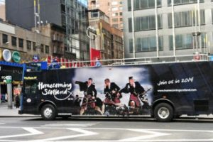 Homecoming Scotland Bus New York for Scotland Week