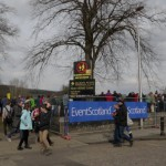 Outside Melrose RFC for the 2013 Melrose Sevens