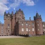 glamis castle outdoors