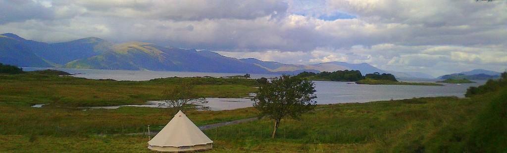 Eco-Camp Scottish Campsite Photo