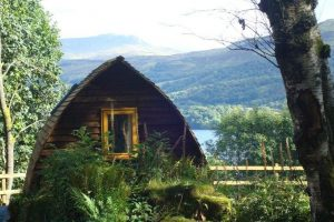 Wigwams Scottish Camping
