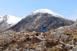 Steve Peat hikes into the mountains around Torridon