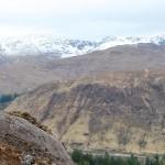 Steve Peat rides Torridon bedrock