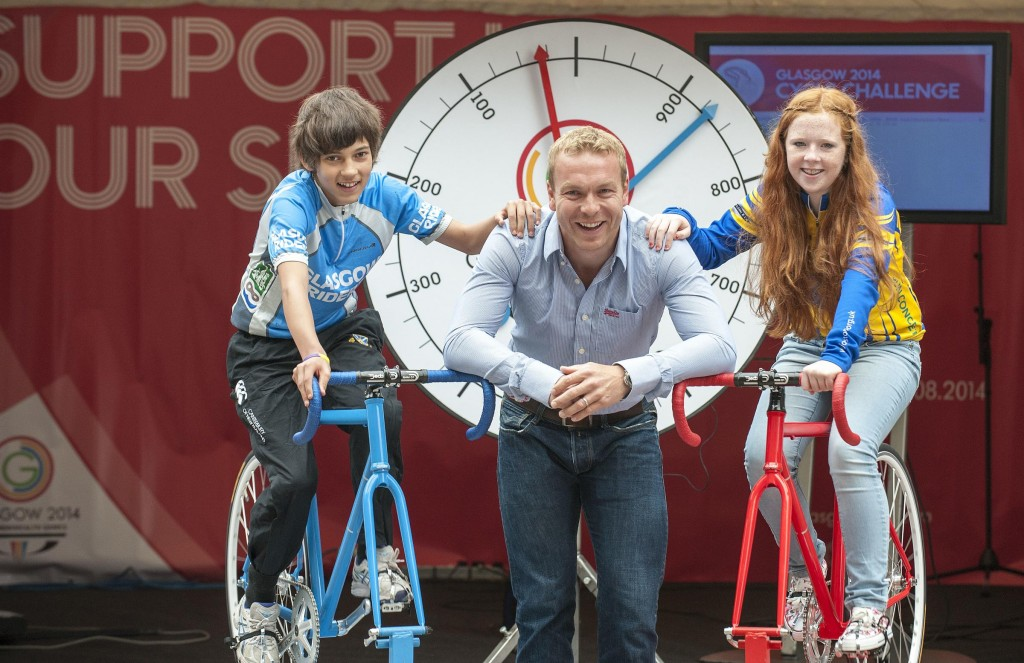 Olympic and Commonwealth gold medallist Sir Chris Hoy