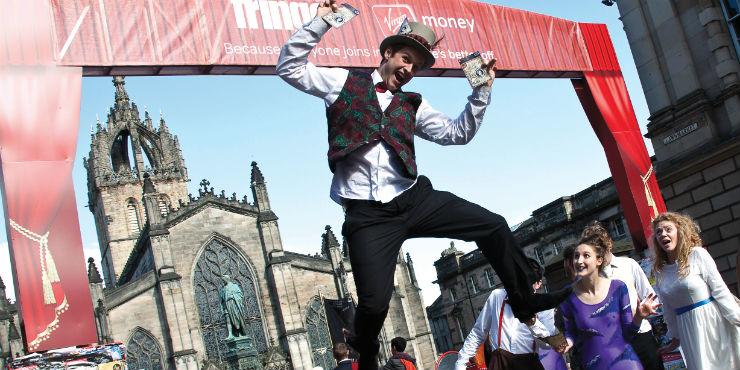 Edinburgh Festival Fringe High Street © Janeanne Gilchrist