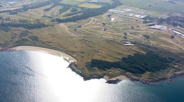 Muirfield aerial shot