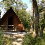 Wigwam at Loch Tay Highland Lodges