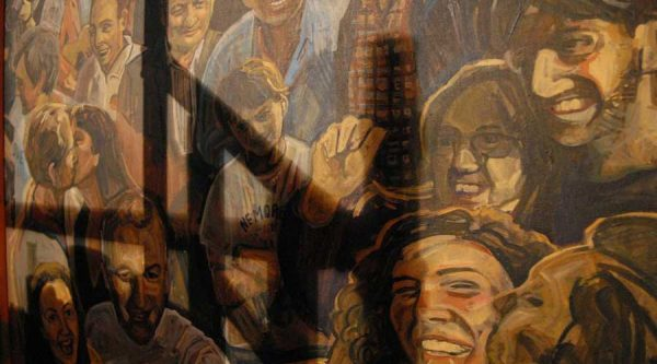 A close up of the mural © Sheila Masson