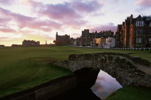 The Old Course at St Andrews is one of the courses featured in the new Fife Golf Trails guide