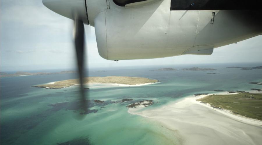 Barra landing