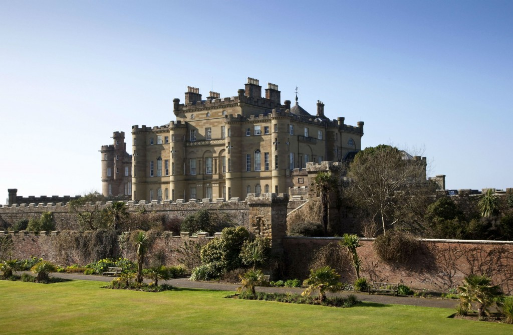 Culzean Castle which serves as the home of Lord Summerisle