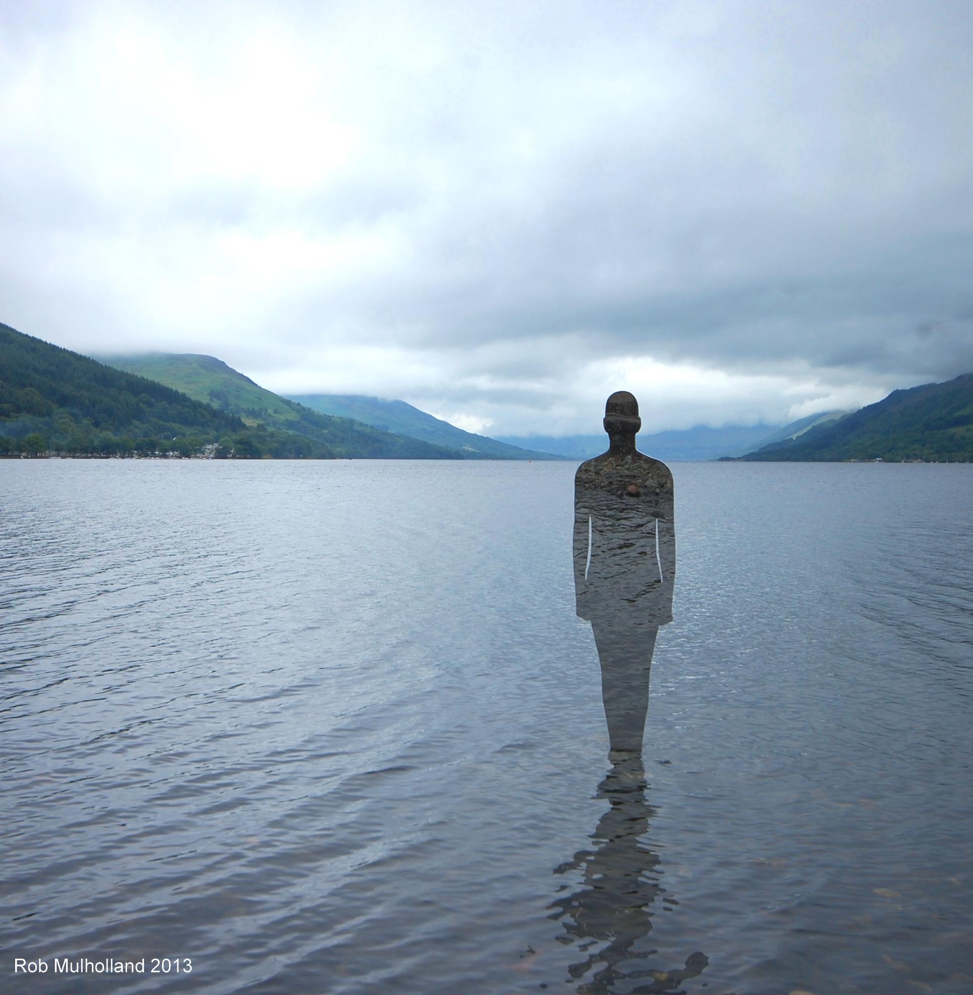Unique art installation makes waves on Loch Earn ...