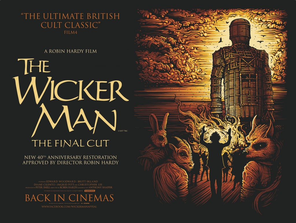 Wicker Man Final Cut poster