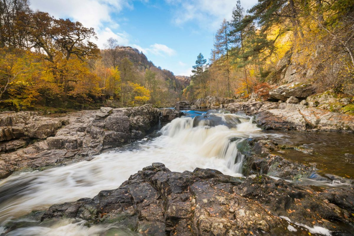 Rapids at the Linn of Tummel, Perthshire