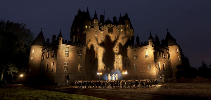 Macbeth at Glamis Castle