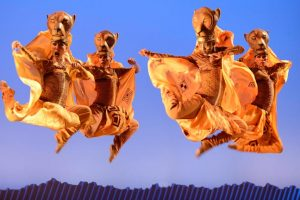 Dancers bring The Lion King to life