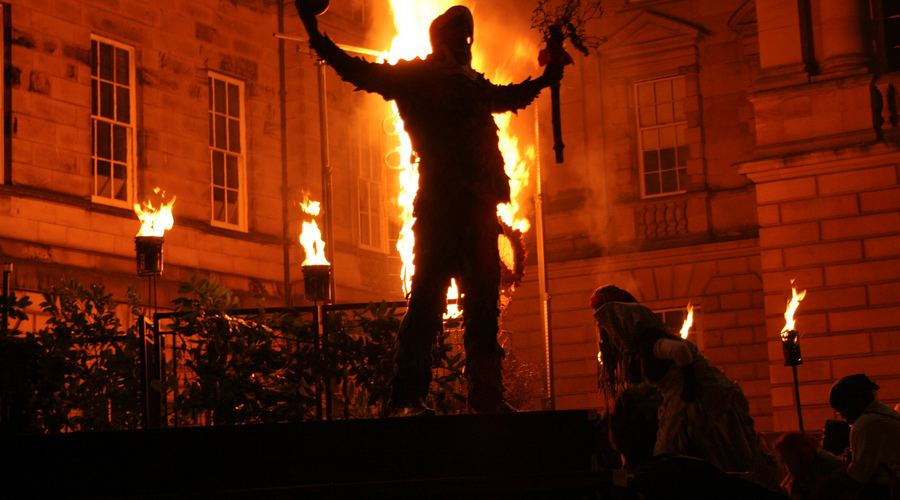 Samhuinn  Fire Festival 2012, Edinburgh  Ã Klara Osickova ***** VisitScotland use only *******