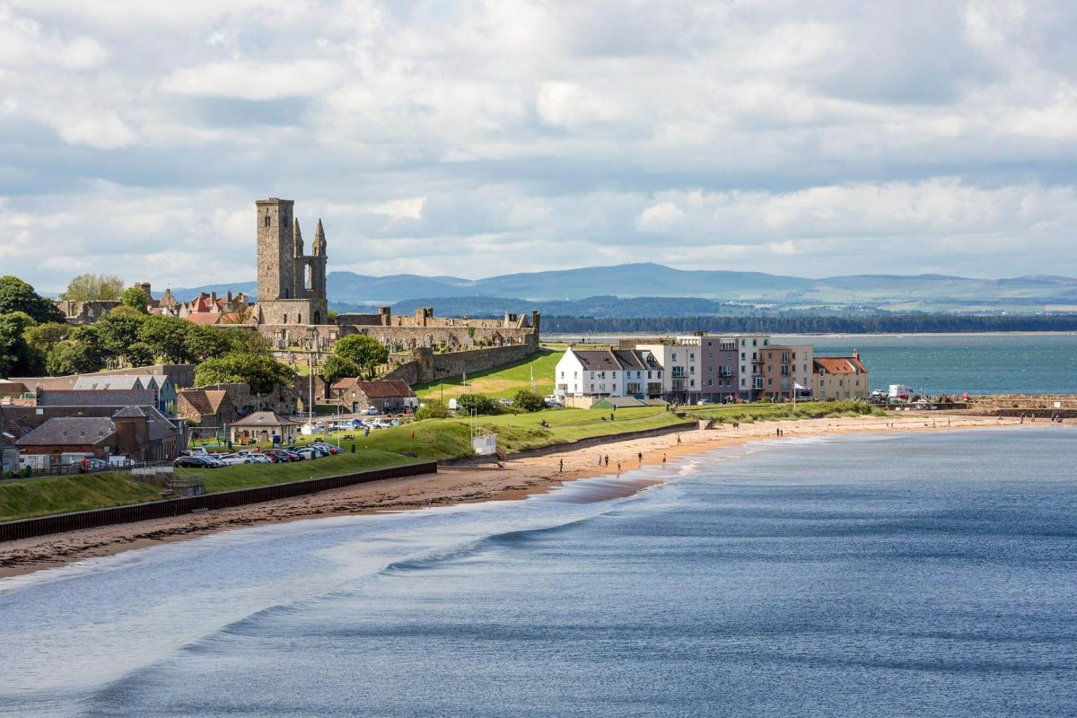 St Andrews seen from East Sands