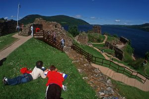 Urquhart Castle is one of sites where you can get in on some Big Draw action this October