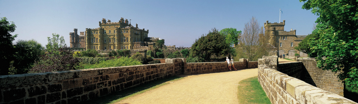 A panoramic view of Culzean Castle