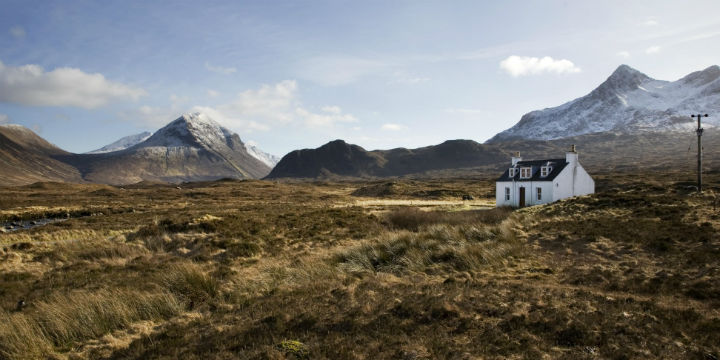 Allt Dearg Cottage on the Isle of Skye