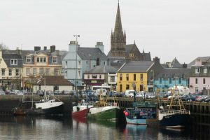 Fishing boats in the quay at Stornoway