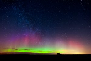 Northern Lights over Scotland © Fay Vincent