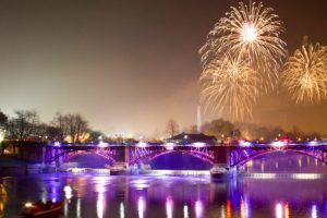 Glasgow Green fireworks displays © Pawel Kmiec